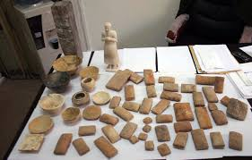 Restoring 5000 stolen historical remains
