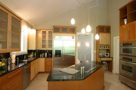 custom maple cherry stainless steel kitchen and laundry