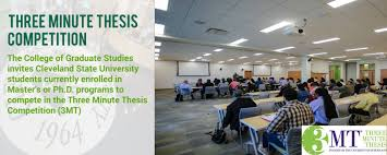 College of Graduate Studies   Cleveland State University Cleveland State University