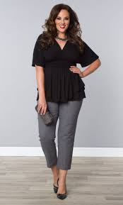 Plus Size Cropped Cardigan 5 Flattering Ways To Wear Plus Size Cropped Pants Clothes
