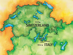Como Italy Map by Swiss Alps And The Italian Lakes The Ohio State University