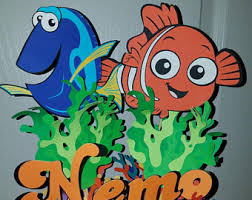 Finding Nemo Centerpieces by Disney Centerpiece Etsy