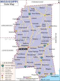 United States Map Major Cities by Map Of Mississippi Cities I U0027ve Visited Biloxi Diamondhead D