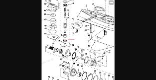removing clutch dog on johnson 1980 55 hp 55el80c bolt question