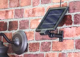 amazon com gama sonic barn solar outdoor led light fixture