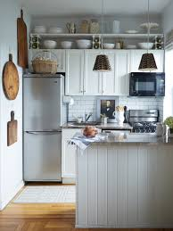 Ideas For A Small Kitchen Space by Small Space Solutions 9 Perfect Places To Squeeze In Shelves
