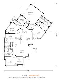 Mid Century Modern House Plan Single Story Mid Century Modern House Plans