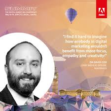 David Cox by Dr David Cox From Headspace Speaking At Adobe Summit Digital