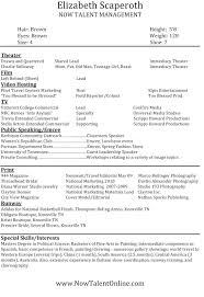 Enrolled Agent Resume Sample by Talent Agent Resume Sample Virtren Com