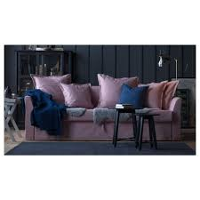 holmsund three seat sofa bed nordvalla beige ikea
