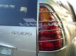 lexus gx 470 for sale 2007 tail light guard cover s s or blk auto beauty vanguard