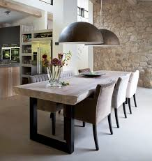 Rustic Modern Dining Room Tables by Best 25 Industrial Dining Tables Ideas On Pinterest Industrial