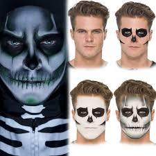 Halloween Male Makeup Halloween Make Up U2013 Vampire Ghost Skeleton Zombie Fancy Dress Face