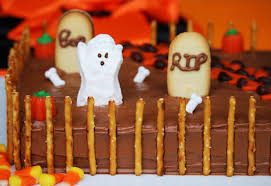 how to make a halloween graveyard cake reviewz u0026 newz