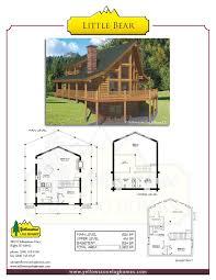 1 Bedroom Log Cabin Floor Plans by Bear River Country Log Homes Log Home Packages Utah Idaho