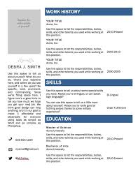 The Best Resume In The World by Word Template For Resume Previousnext Previous Image Next Image