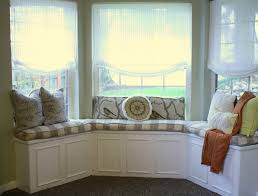 modern window treatments for bay windows home intuitive bow window