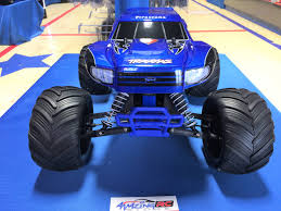 bigfoot summit monster truck the traxxas original monster truck bigfoot firestone u2013 blue