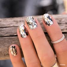 these wickedly cool disney jamberry nail wraps are perfect for any