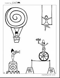 astonishing printable circus coloring sheets with carnival