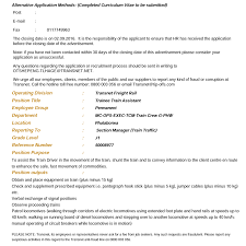 Resume Sample Format For Seaman by Transnet Vacancy Posts Home Facebook
