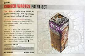 new gw terrain paint sets spotted spikey bits