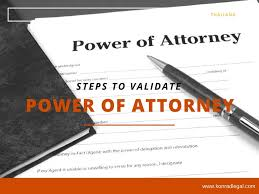 Export Power Of Attorney Form by Simple Steps To Validate Power Of Attorney In Thailand