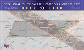 Google Maps Time Zones by 2017 Total Solar Eclipse In Tennessee