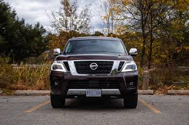 nissan armada canada used review 2017 nissan armada platinum canadian auto review