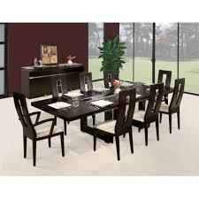 9 pieces dining room sets dact us sharelle furnishings novo 9 piece dining set reviews wayfair
