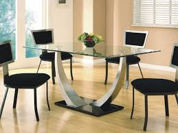 dining room pretty glass top dining table round contains on