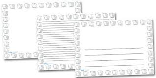 Horizontal Writing Paper With Picture Box   print kindergarten
