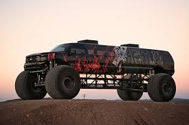 monster trucks in the mud videos sin city hustler u0027 is a 1m ford excursion monster truck video