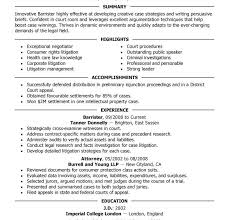 Sample Lawyer Resumes by Sample Attorney Resume Summary Personal Injury Attorney Resume