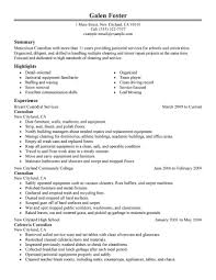 resume examples for job 11 amazing maintenance janitorial resume examples livecareer cleaning professionals resume example