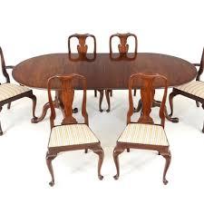 Henkel Harris Dining Room Vintage Dining Furniture Auction Antique Dining Furniture For