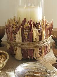 thanksgiving centerpieces indian corn centerpiece