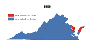 Map Of Virginia Counties And Cities by Rural Virginia Death In Paradise Statchat