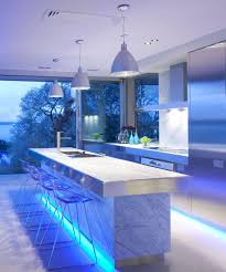 Beautiful Lighting The Magic Of Color Changing Kitchen Lights Cabinet Lighting