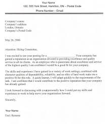 Sample Of Work Resume by Samples Of Cover Letters For Job My Document Blog