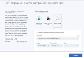 share your code with the new deploy to bluemix button bluemix blog