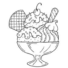 amazing ice cream coloring pages 42 on line drawings with ice