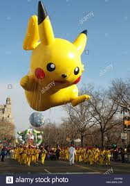 thanksgiving parade balloons pikachu balloon at the macy u0027s thanksgiving parade new york city