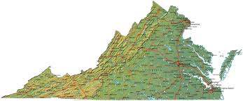 Virginia On Map by Virginia Foster Family Research How To Do It