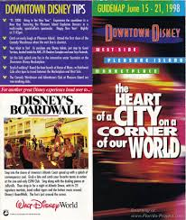 Map Of Downtown Disney Orlando by Downtown Disney Guidemaps 2000 1991 Page 3