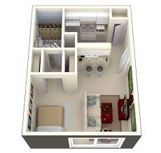 500 Sq Ft Apartment Floor Plan Small Apartment Plans Under 500 500 Sq Ft East Village Studio Apt