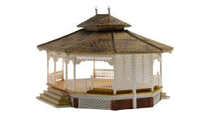 Outdoor Lighting Fixtures For Gazebos by Grand Gazebo Ho Scale Ho Scale Woodland Scenics Model