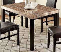 amazon com furniture of america bahia contemporary faux marble
