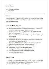 Best Java Developer Resume by Sample Network Engineer Resume Sample Network Engineer Resume