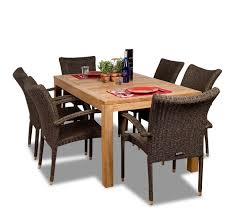 Teak Patio Umbrellas by Why Outdoor Dining Sets Made Of Teak Wood Are The Best Choice